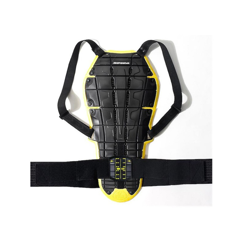 SPIDI BACK WARRIOR EVO BACK PROTECTOR - BLACK YELLOW