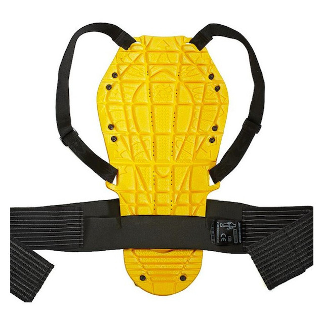 SPIDI BACK WARRIOR EVO BACK PROTECTOR BLACK YELLOW - BACK
