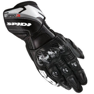 SPIDI CARBO 3 LEATHER GLOVES - Black