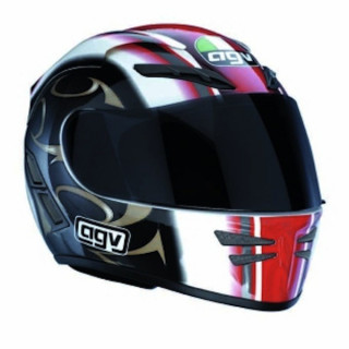 AGV STEALTH - DRAGON RED