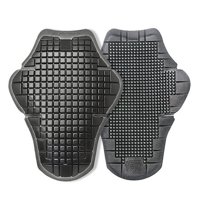 SPIDI COMPACT WARRIOR 510 BACK PROTECTOR - BLACK GRAY