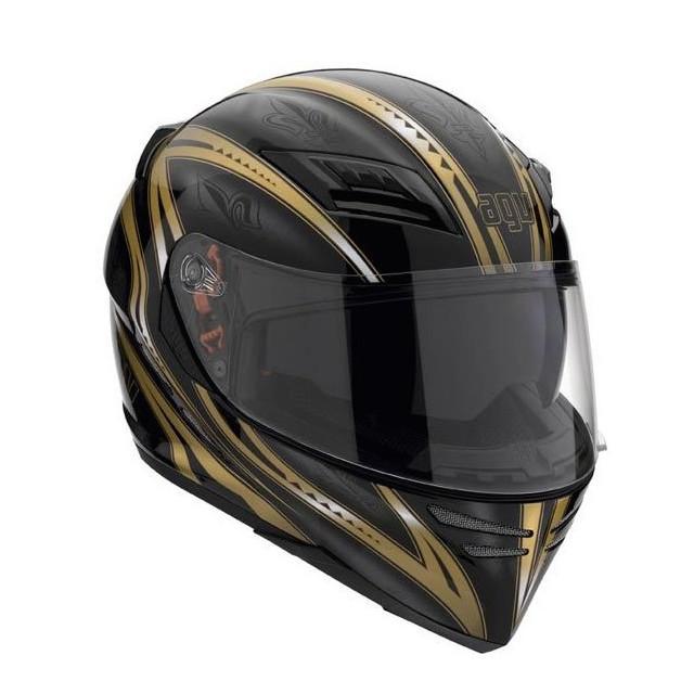 AGV STEALTH SV - FLORENCE BLACK-GOLD