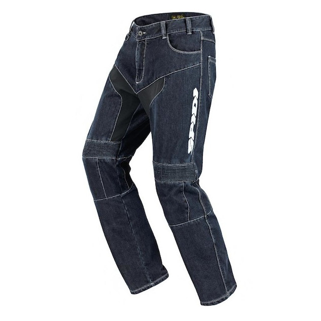 SPIDI FURIOUS TEX JEANS BLUE - LOGO