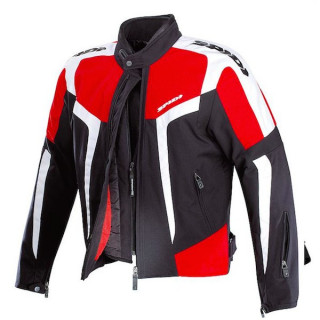 SPIDI GARA TEX BLACK RED WHITE