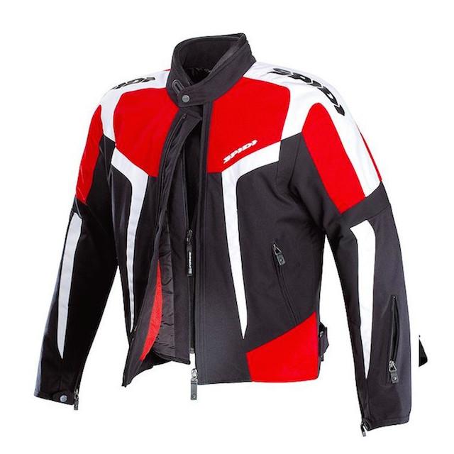 SPIDI GARA TEX BLACK RED WHITE