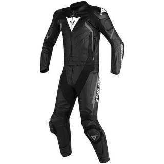 TUTA DAINESE AVRO D2 2 PCS PERF. SUIT - BLACK ANTRACHITE
