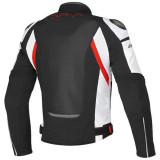 GIACCA DAINESE SUPER SPEED BLACK WHITE RED - RETRO