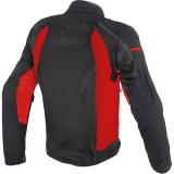 DAINESE AIR FRAME TEX BLACK RED - RETRO