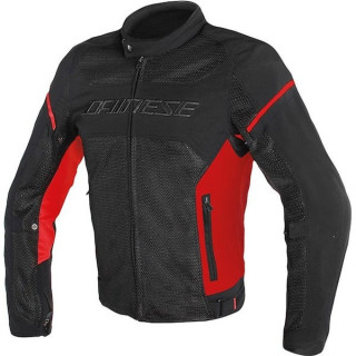 DAINESE AIR FRAME TEX - BLACK RED