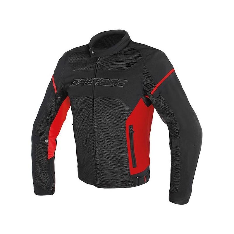 DAINESE AIR FRAME TEX - BLACK RED