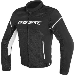 DAINESE AIR FRAME TEX - BLACK WHITE