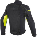 DAINESE AIR FRAME TEX BLACK YELLOW FLUO - RETRO
