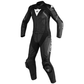 DAINESE AVRO D2 2 PCS LADY SUIT - BLACK ANTHRACITE