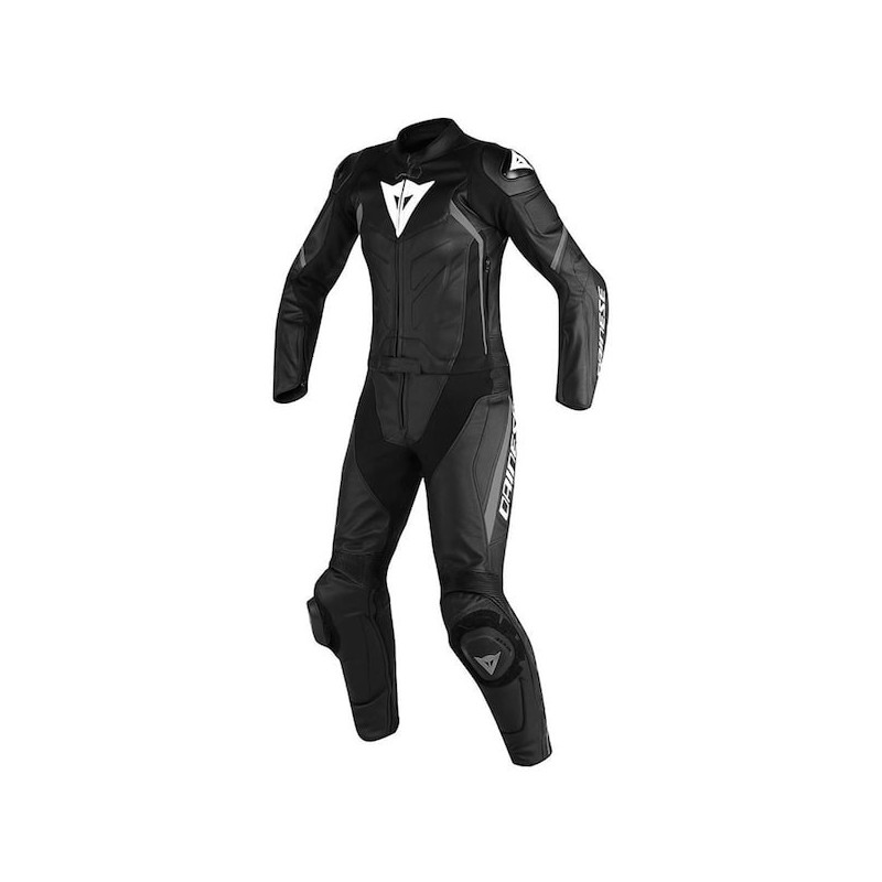 TUTA DAINESE AVRO D2 2 PCS LADY SUIT - BLACK ANTHRACITE