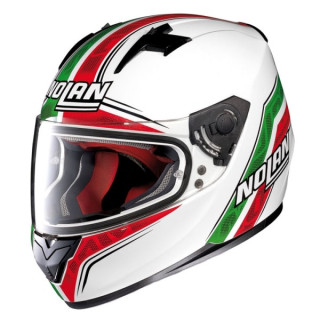 Casco Nolan N64 Italy - Metal White