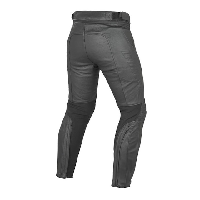 DAINESE PONY C2 LEATHER PANTS BLACK - RETRO