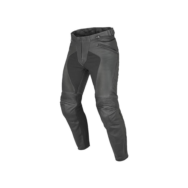 DAINESE PONY C2 LEATHER PANTS - BLACK