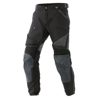 DAINESE HORIZON LEATHER-TEX PANTS - BLACK