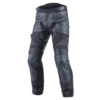 DAINESE CRUISER D-DRY LEATHER PANTS - BLACK