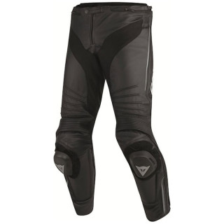 DAINESE MISANO LEATHER PANTS - BLACK