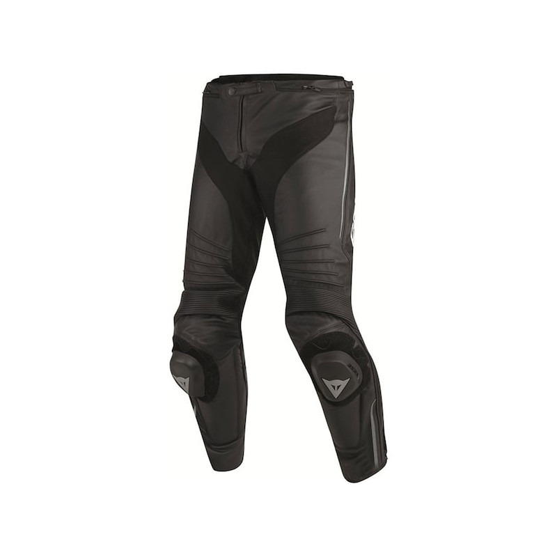 DAINESE MISANO PERF. LEATHER PANTS - BLACK