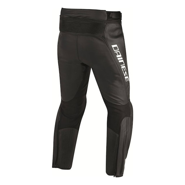 DAINESE MISANO PERF. LEATHER PANTS BLACK - RETRO
