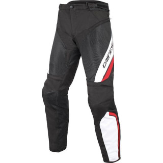 DAINESE DRAKE AIR D-DRY PANTS - BLACK WHITE RED