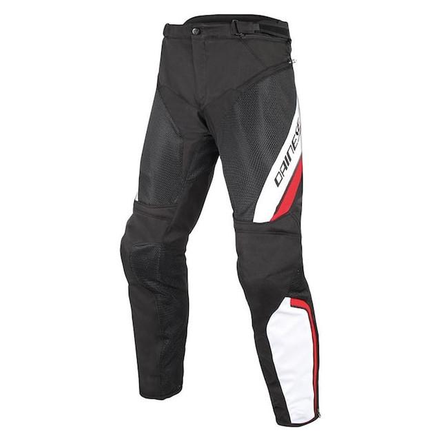 DAINESE DRAKE AIR D-DRY PANTS- BLACK WHITE RED