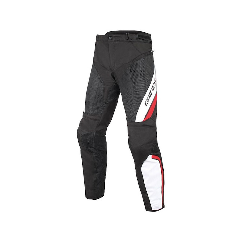 PANTALONI DAINESE DRAKE AIR D-DRY PANTS - BLACK WHITE RED