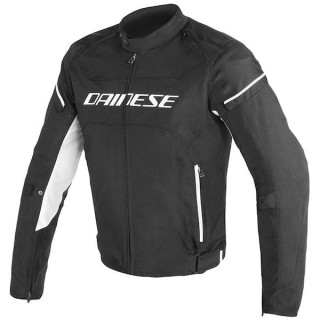 DAINESE D-FRAME TEX JACKET - BLACK WHITE